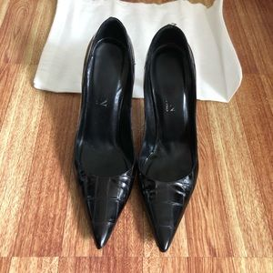 St. John black heels